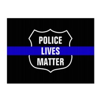 POLICE LIVES MATTER POLICE SUPPORT YARD SIGN