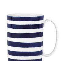 Kate Spade Charlotte Street Mug Blue/White ONE