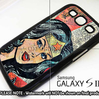 Wonder Woman Superhero Comic Book - for iPhone 4/4S case iPhone 5 case Samsung Galaxy S2/S3/S4 case hard case