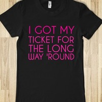 I GOT MY TICKET FOR LONG WAY ROUND - glamfoxx.com