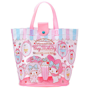 Buy Sanrio My Melody Ice Cream Vinyl Bucket Style Tote Bag at ARTBOX