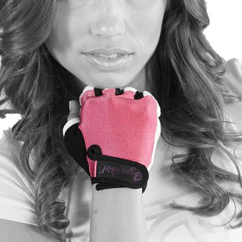 Fitness Gloves in Bubblegum