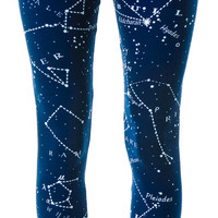 Fairground Scorpio Leggings Navy