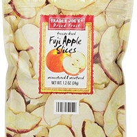 3 Pack Trader Joe's Freeze Dried Fuji Apple Slices 1.2oz