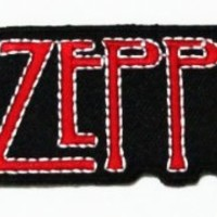 Led Zeppelin Rock Music Band Logo Iron on Patch Great Gifr for Men and Women/ramakian
