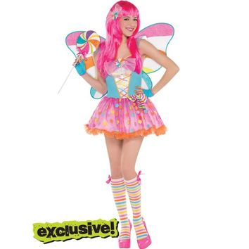 Teen Girls Lollipop Fairy Costume