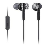 Extra Bass Earbud Headset Blk