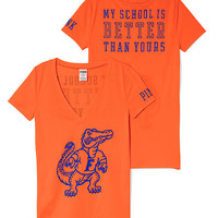 University of Florida Mascot V-neck Tee - PINK - Victoria's Secret