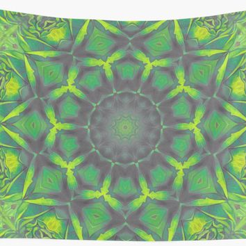 'magic mandala 47 #mandala #magic #decor' Wall Tapestry by JBJart