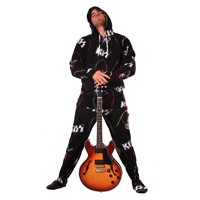 KISS Rock Gods Hooded Adult Pajamas | World's Best Pajama Store