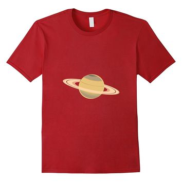 Hipster Planet Capricorn saturn solar system science T-shirt