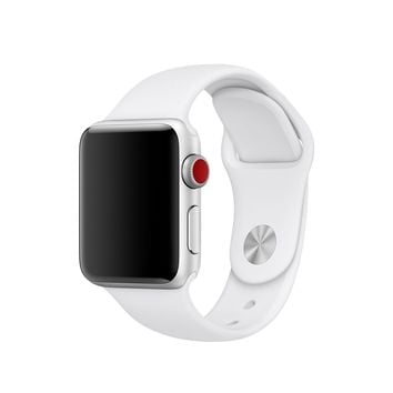 38mm White Sport Band – S/M & M/L