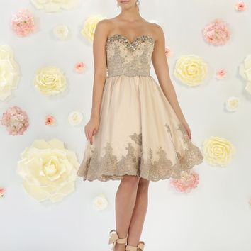 Short Prom Dress Homecoming Cocktail