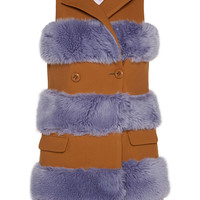 Vivetta Lonesco Vest Teddy/Lilac