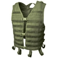 Mesh Hydration Tactical Vest - Color: OD Green