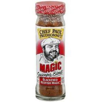 Magic Seasonings Chef Paul Blackened Redfish Magic Seasoning (6x2Oz)