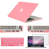 Matte Case For macbook Air Pro 11 13 15 laptop bag For Macbook Retina 12 13.3 15.4 inch laptop Case