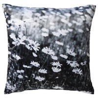 "Room Essentials® Photo Real Daisies Toss Pillow (18x18"")"
