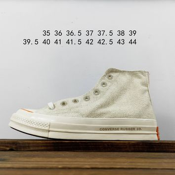 Kuyou Fa19630 Foot Patrol X Converse Chuck Taylor 1970 High Natural High Top Canvas Shoes