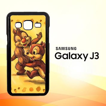 Chip n Dale Childhood Memories F0392  Samsung Galaxy J3 Edition 2015 SM-J300 Case