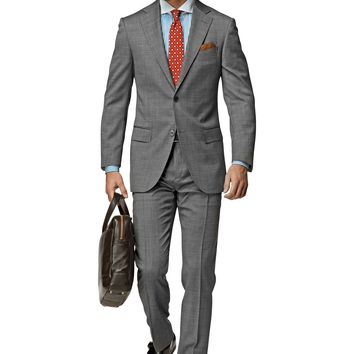 Suit Grey Plain Napoli P3752i | Suitsupply Online Store