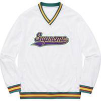 Supreme: Baseball Warm Up Top - White