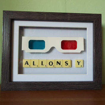Doctor Who inspired 3D glasses used by the Tenth Doctor Allons-Y BEST SELLER