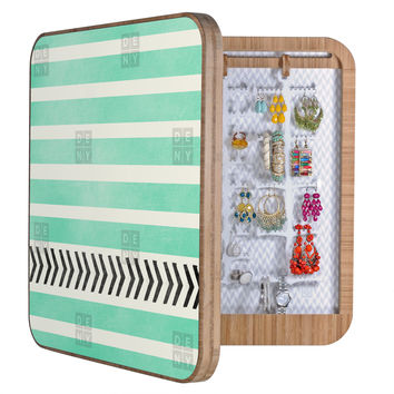Allyson Johnson Mint Stripes And Arrows BlingBox