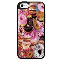 Yummy Doughnuts with Sprinkles Hard Snap on Phone Case (iPhone 5c)