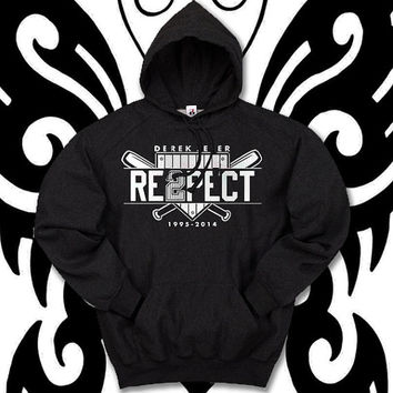 Derek Jeter Re2pect logo by christmasHoodie , hoodies, custom hoodie, ... :D