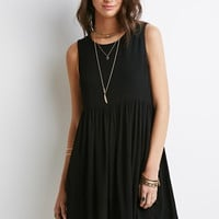 Crepe Babydoll Dress | Forever 21 - 2000076839