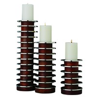 The Stacked Plate Candleholder