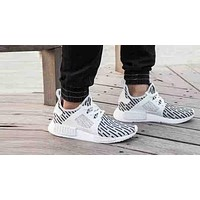 """""""Adidas"""" NMD XR1 Duck Camouflage Popular Women Men Leisure Running Sport Shoes Sneakers White I"""