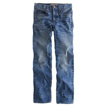 J.Crew Womens Point Sur Shoreditch Selvedge Jean In Chipman Wash