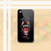 Givenchy Rottweiler - Print on Hard case for iPhone 4/4s and iPhone 5/5s/5c