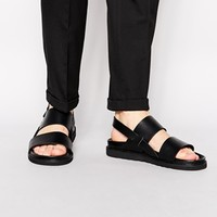 ASOS Sandals in Leather at asos.com
