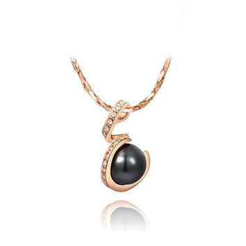New Arrival Stylish Gift Shiny Pearls Jewelry Necklace [9281903428]