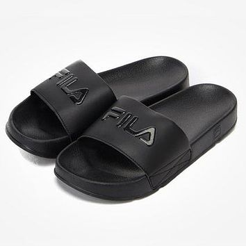 FILA Woman Men Casual Simple Sandal Slipper Shoes