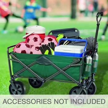 Mac Sports Folding Utility Wagon Green