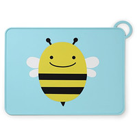 Skip Hop Zoo Fold and Go Placemat, Bee