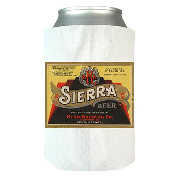 Sierra Beer - Beer Can Wrap, Insulated Can Wrap, Beer Gifts, Gift Idea For Beer Lovers, Vintage Beer Label, Dad Gifts   Man Gifts