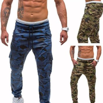TREVOR LEIDEN Tactical Clothing Men Cargo Pants Military Trousers Summer Camouflage Army Pants  Bodybuilding Trousers Sportswear
