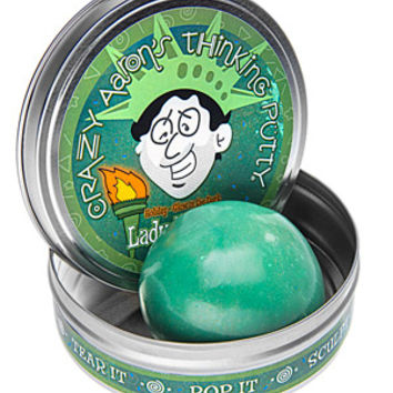 Lady Liberty Putty: Made with real shavings of the Statue of Liberty.