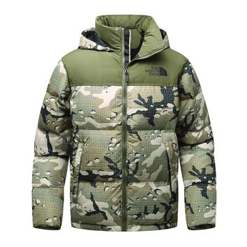The North Face winter MEN outdoor Down jacket