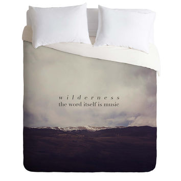 Leah Flores Wilderness Music Duvet Cover