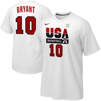 Nike Kobe Bryant USA Basketball 1992 Dream Team Replica Jersey T-Shirt - White