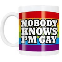 Coffee Mug - Nobody Knows Im Gay