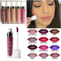 Dose of Colors Matte Liquid Lipsticks 12Color with Retail Package Nutritious Matte Liquid Lipstick Dose of Colors(Size 12) [9305874055]
