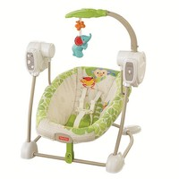 Rainforest SpaceSaver Swing Seat 376506305 | Baby Swings | Activity | Shop Online For | BABY | Burlington Coat Factory