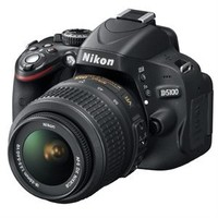 Nikon D5100 16.2 Megapixel Digital SLR Camera with AF-S DX NIKKOR 18-55mm f/3.5-5.6G VR Lens Kit